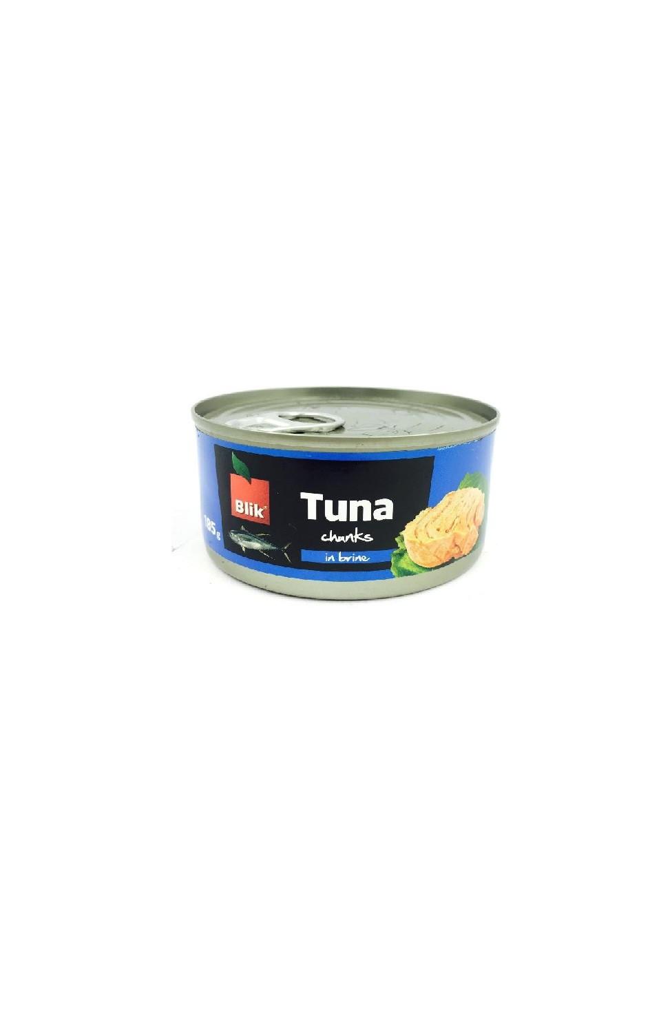 Tuunikala tükid soolvees 185g Blik/Vilko