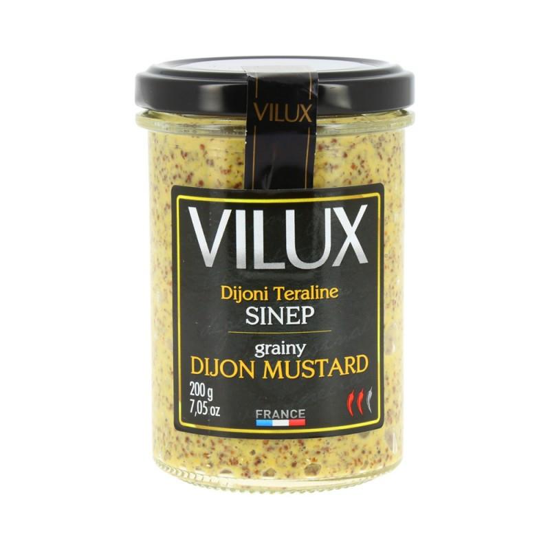 Dijoni sinep teraline 200g VILUX