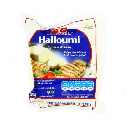 Juust Halloumi, DODONI, 225 g