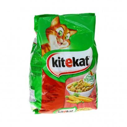 Kassi kuivtoit veiseliha-köögivilja 1,8kg KITEKAT