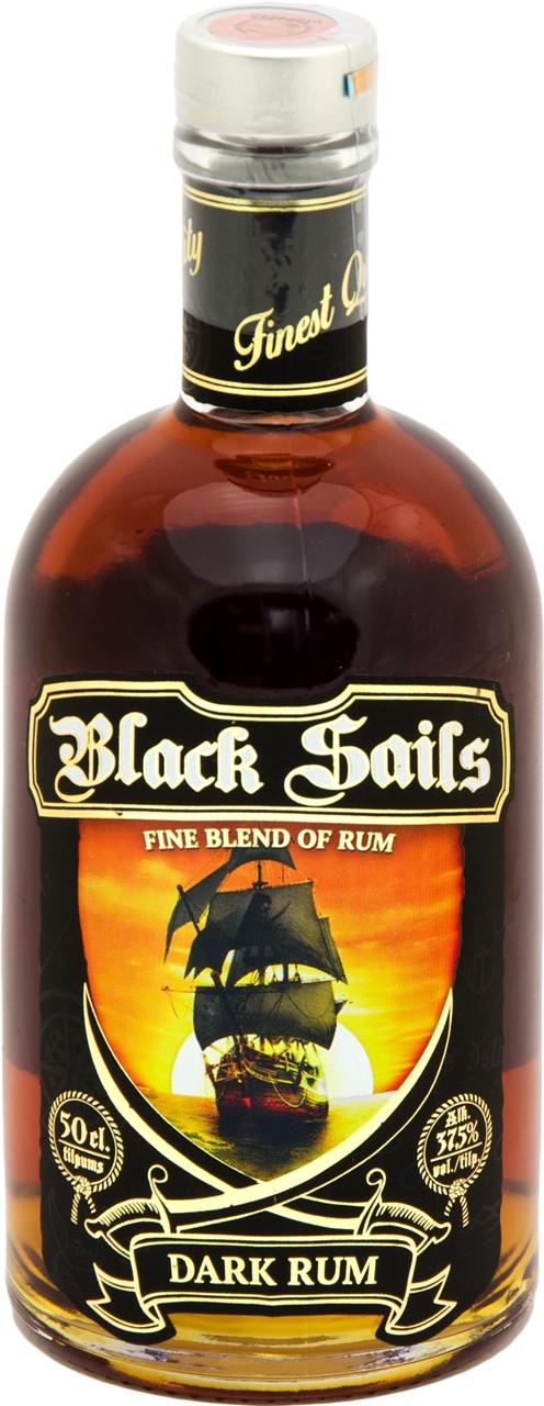 Rumm Black Sails Dark Rum 37,5% 50cl