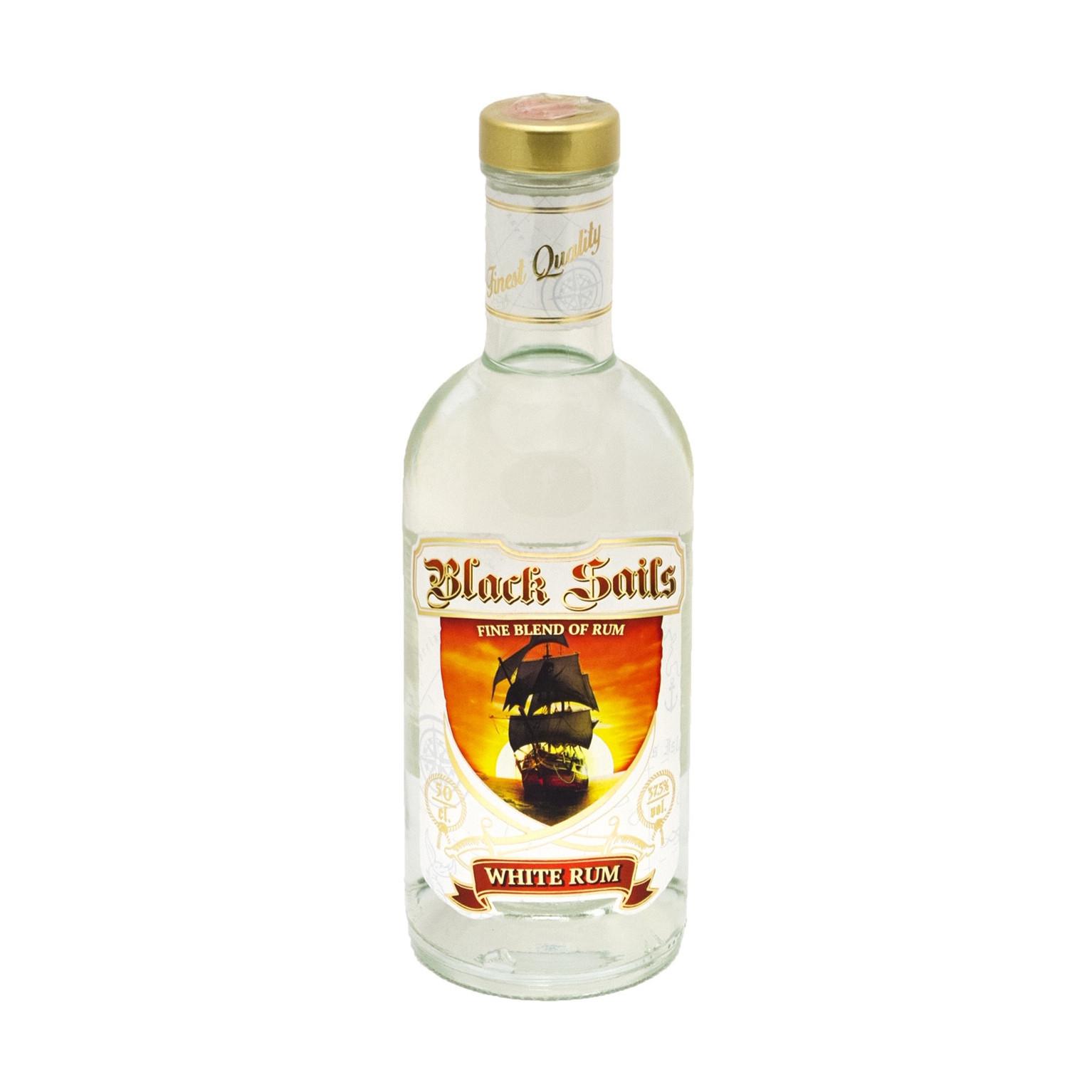 Rumm Black Sails White Rum 37,5% 50cl