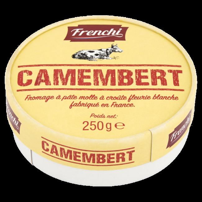 Valgehallitusjuust CAMEMBERT 50% 250g, FRENCHI