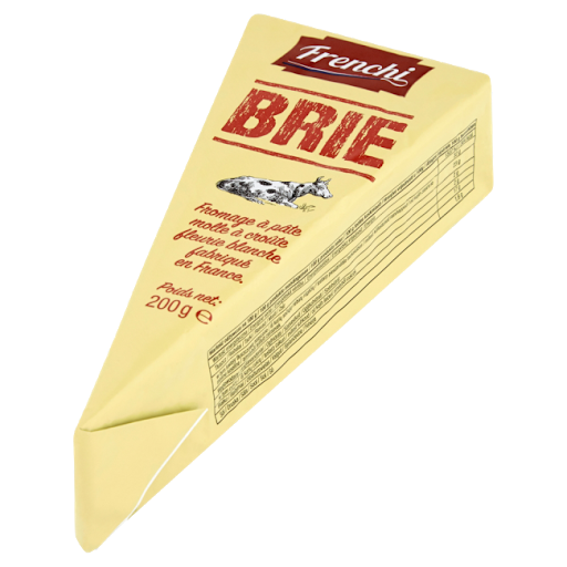 Valgehallitusjuust Brie pointe 60% 200g, FRENCHI