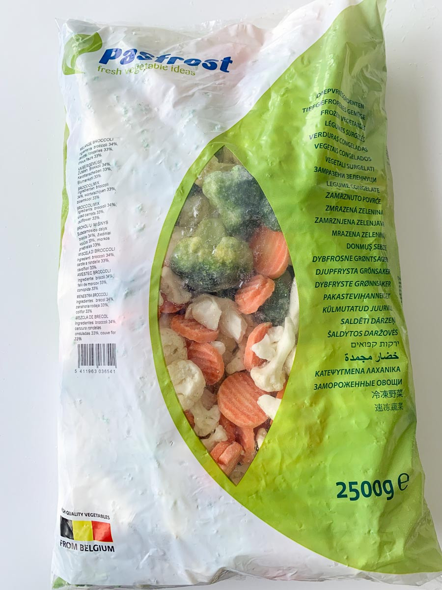 Brokoli-lillkapsa-porgandi mix külmutatud 2,5kg Golden Garden