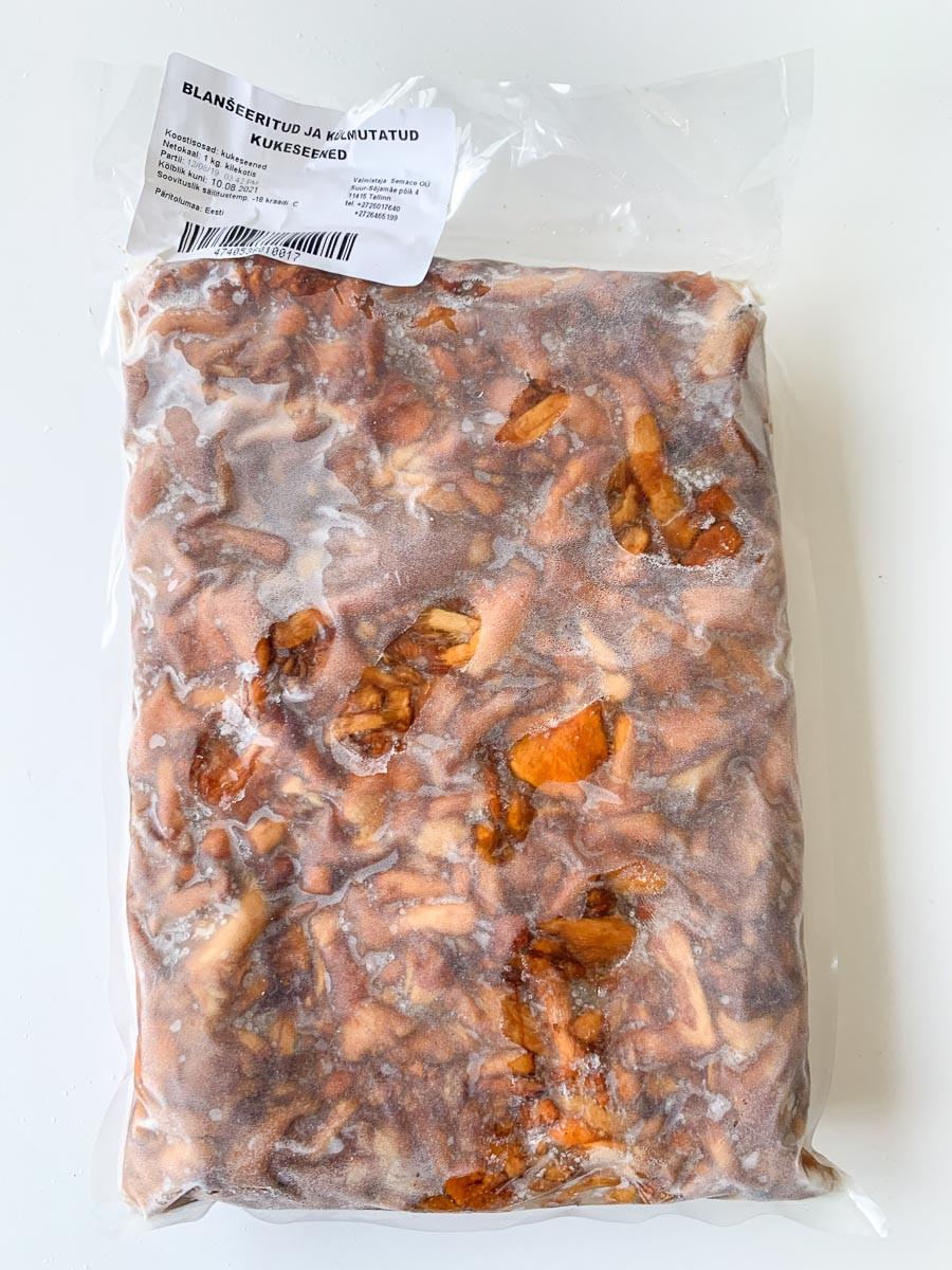 Kukeseen külmutatud blanseeritud 1kg
