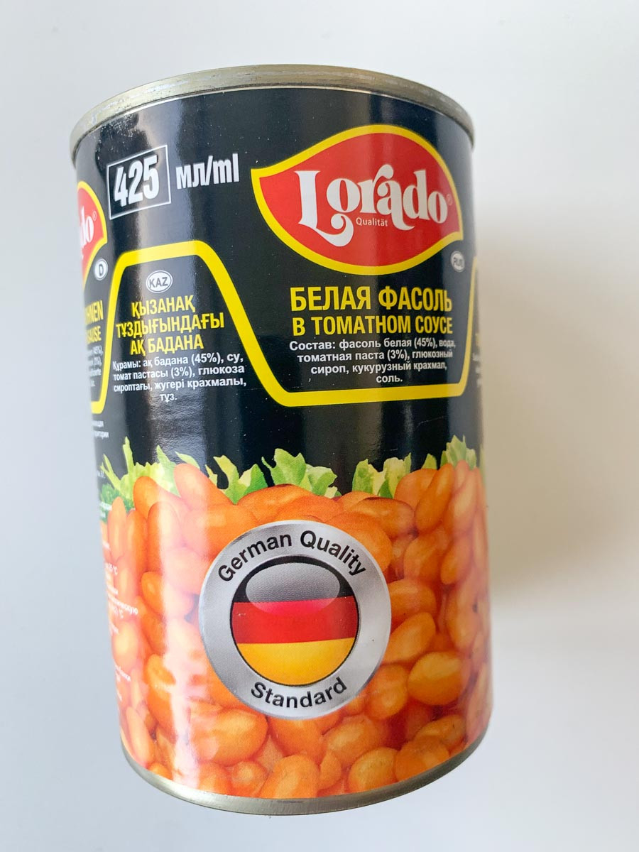 Aeduba valge tomatikastmes 400g/255g, LORADO