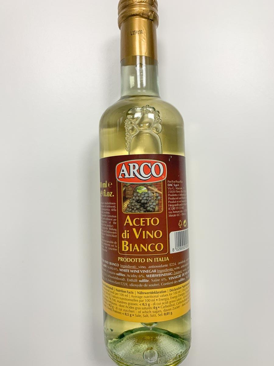 Äädikas veini valge 500ml ARCO