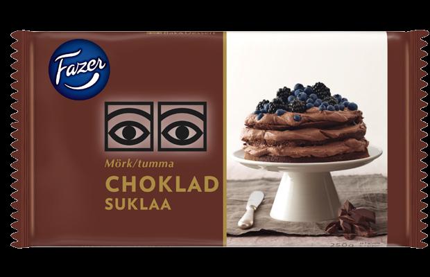 Šhokolaad block tume 250g, FAZER