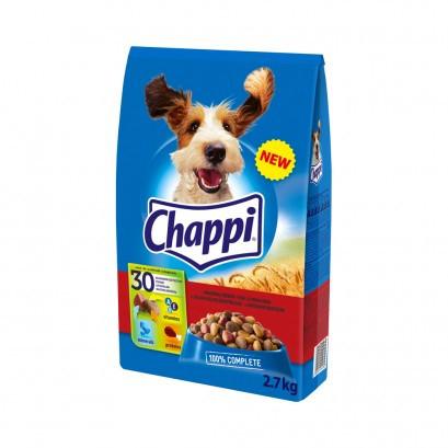 Koera kuivtoit Complete looma-linnulihaga 2,7kg CHAPPI