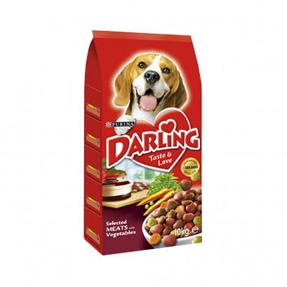 Koera kuivtoit liha-juurvili 10kg DARLING