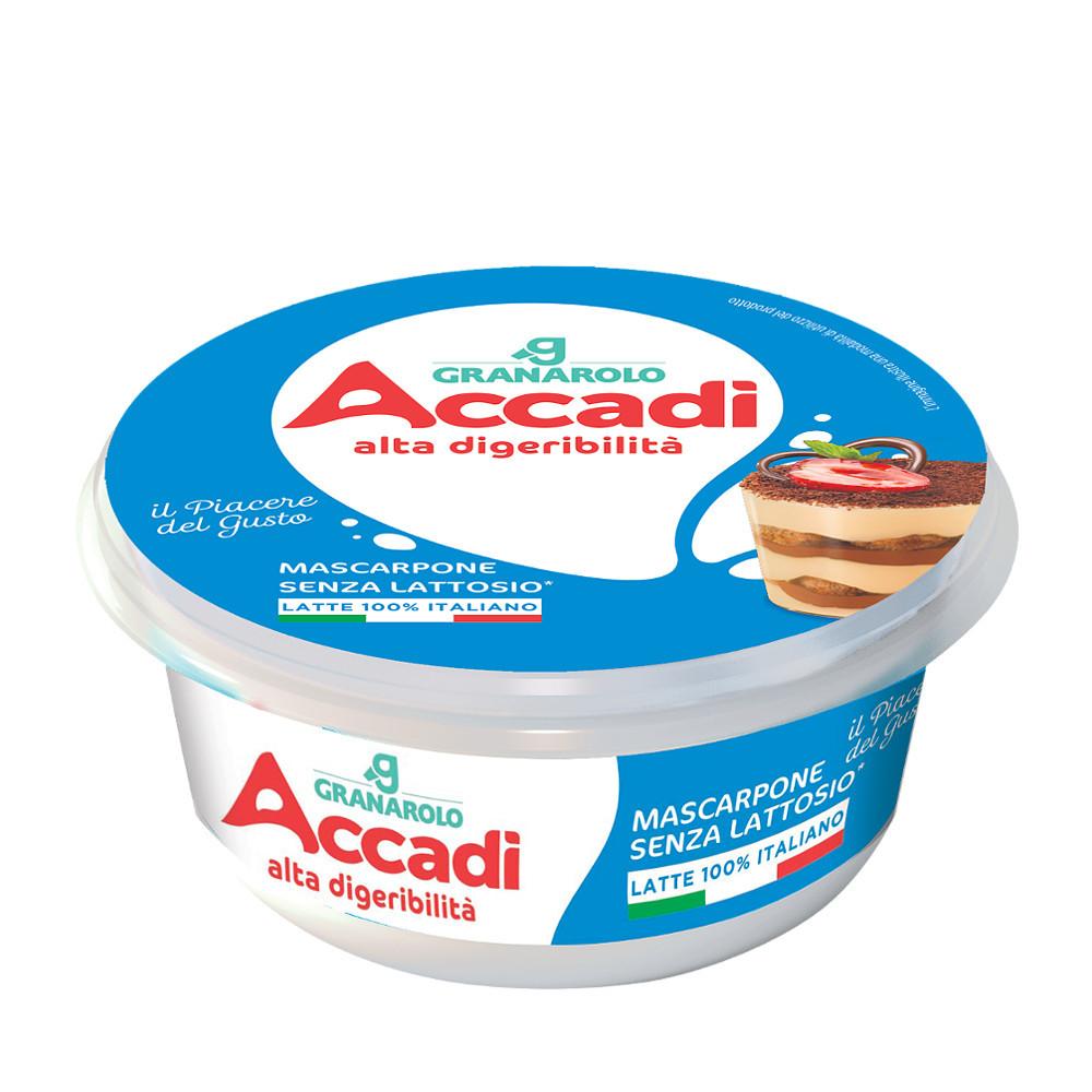 Mascarpone kreemjuust laktoosivaba 250g, ACCADI