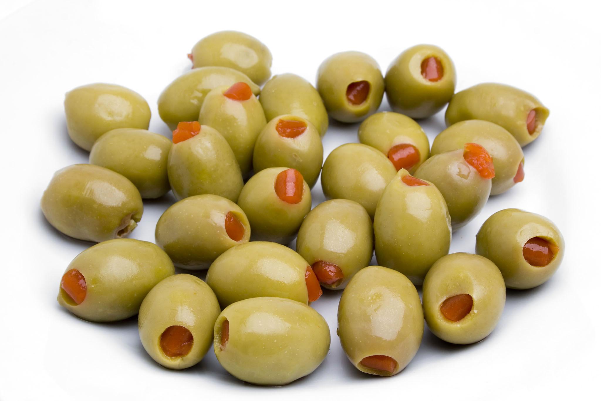 Oliivid rohelised paprika täidisega 1kg ARCO