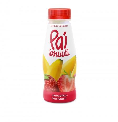 Smuuti PAI maasika-banaani 280ml