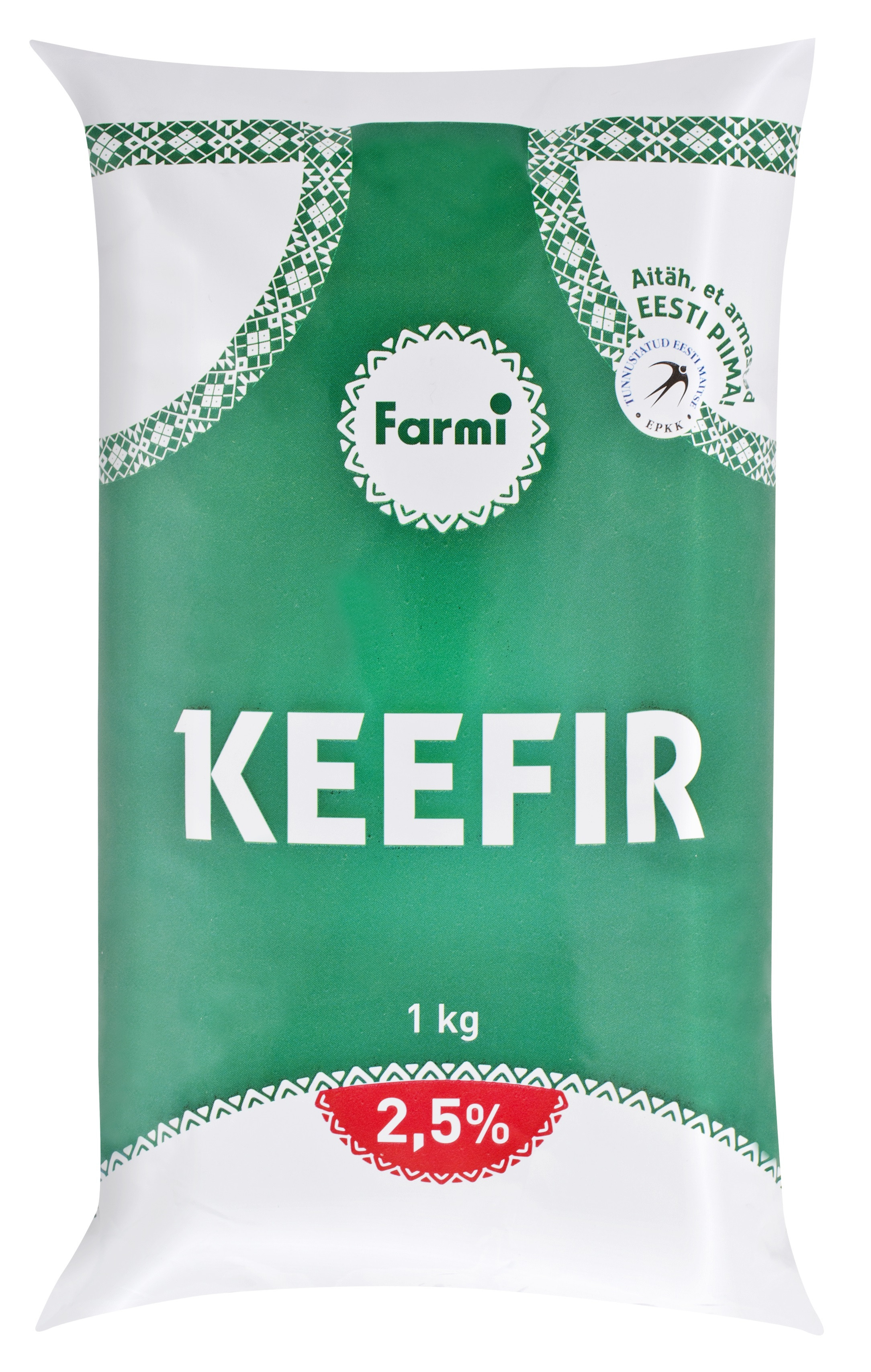 Keefir kile 2,5% 1L Farmi