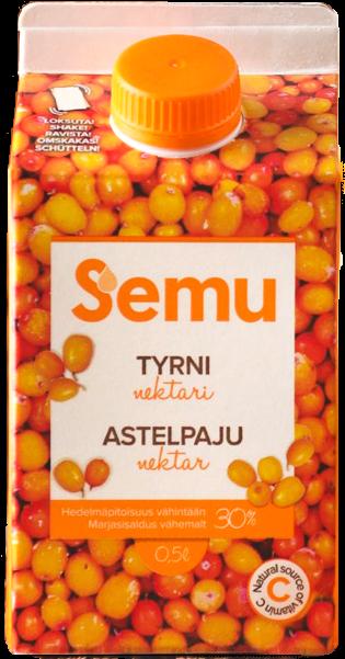 "Astelpajunektar ""SEMU"" 0,5L"