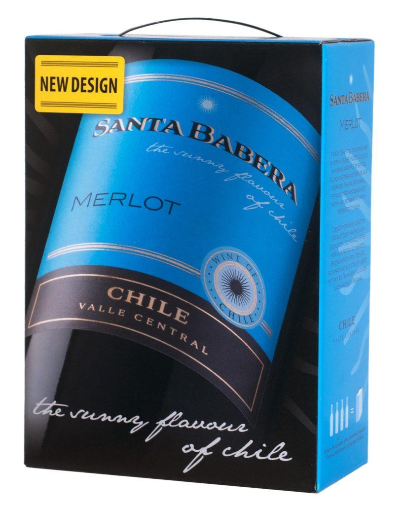 Vein MERLOT 3L BIB Santa Babera