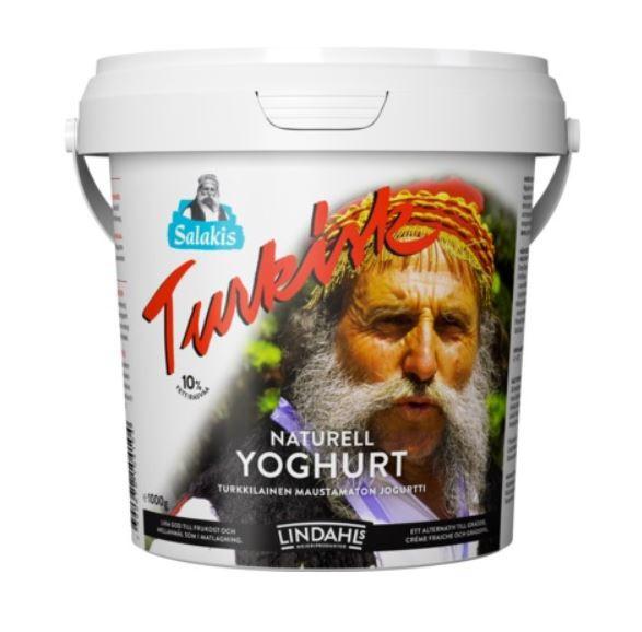 Türgi jogurt turkisk naturel 10% 1kg, LINDAHLS