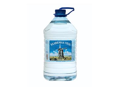 Vesi gaseerimata 5L, SAAREMAA