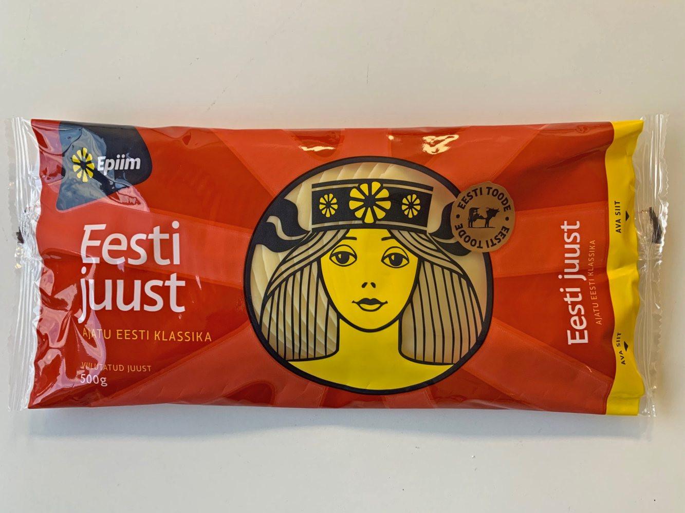 Eesti juust, viil 500 g E-piim