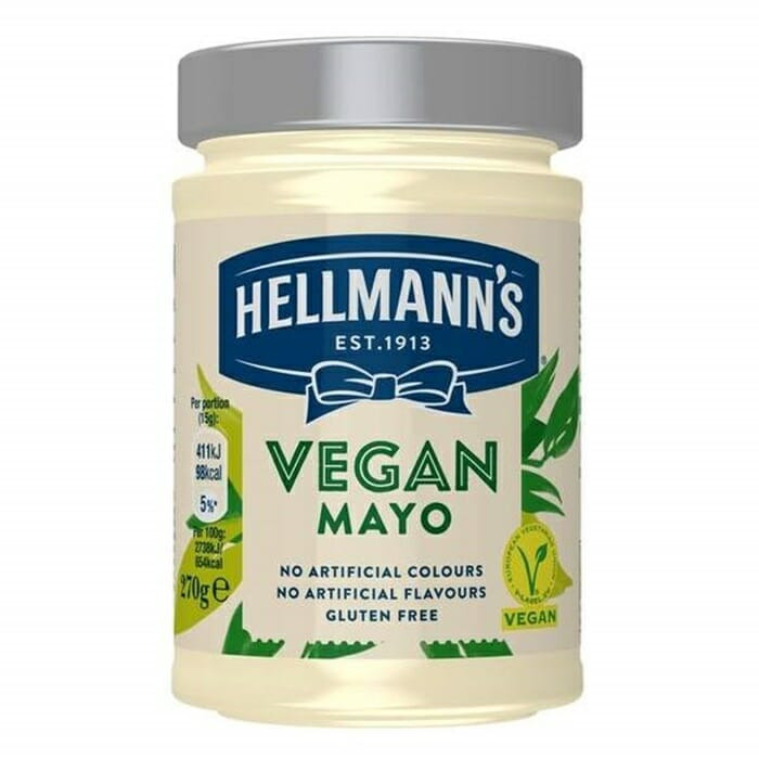Majonees vegan 270g HELLMANN'S