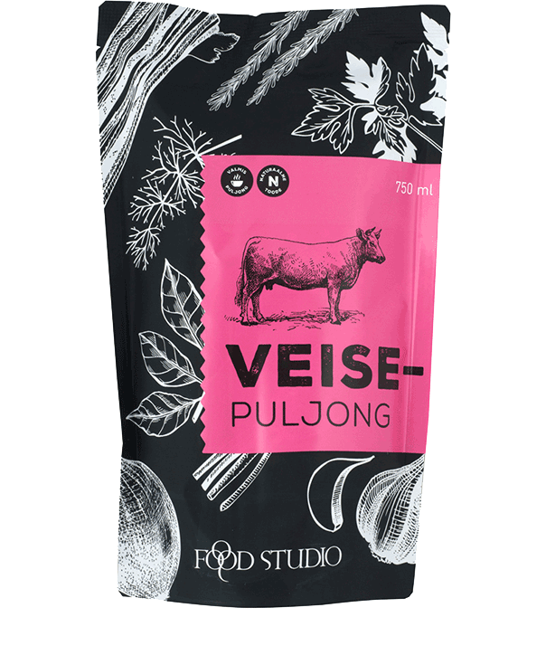 Veisepuljong 750ml, FOODSTUDIO