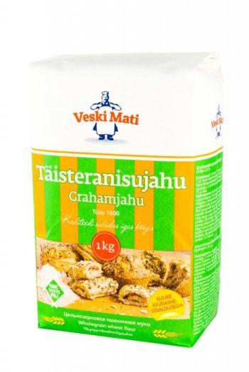 Täistera nisujahu Graham 1kg, VESKI MATI