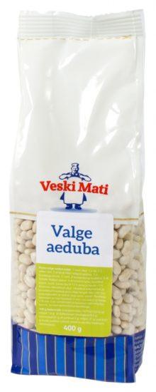 Aeduba valge kuivatatud 400g, VESKI MATI