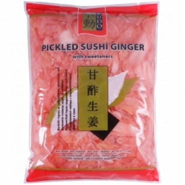 Sushi ingver roosa 1,5/1kg FUDO