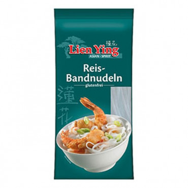 Riisi lintnuudlid (laiad) 250g LIEN YING