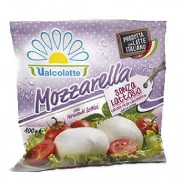 Mozzarella pall laktoosivaba, VALCOLATTE, 100G