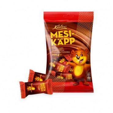Mesikäpp šokolaadiglasuuris kakaobatoonike, KALEV, 200 g