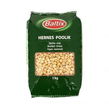 Hernes kollane poolik kuiv. 1kg, BALTIX