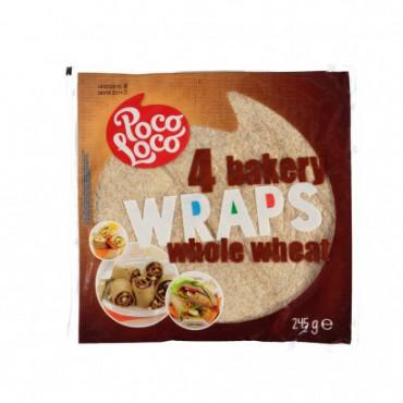 Täistera tortilla 25cm 4tk/pk POCO LOCO