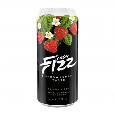 Siider FIZZ STRAWBERRY 0,5L purk A.Le Coq