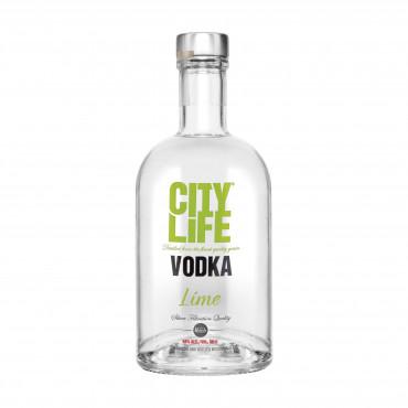 Maitsestatud viin Citylife Lime Vodka 40% 50cl