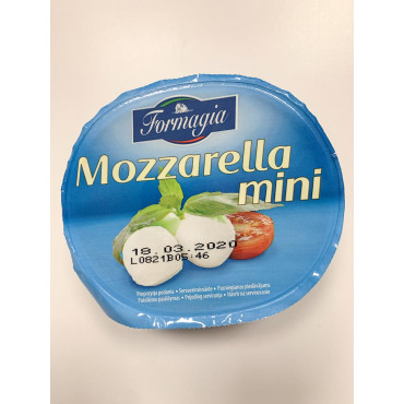 Mozzarella kirsid 125g FORMAGIA
