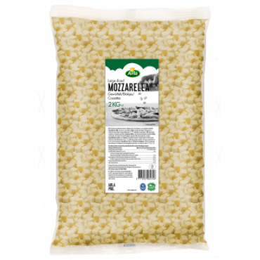 Mozzarella kuubikud 4*4mm 2kg ARLA