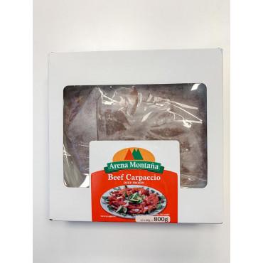 Veise carpaccio külmutatud 10x80g, 800g/pakk