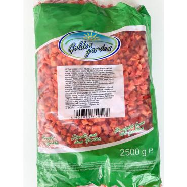 Paprikakuubikud punased külmutatud 2,5kg GOLDEN GARDEN