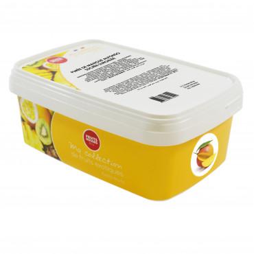 Mangopüree külmutatud 1kg, FRUITS ROUGES