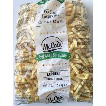 Friikartulid express sakiline külm. 2,5kg, Mccain