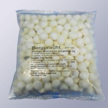 Mozzarella kirsid 5g külmutatud 1kg