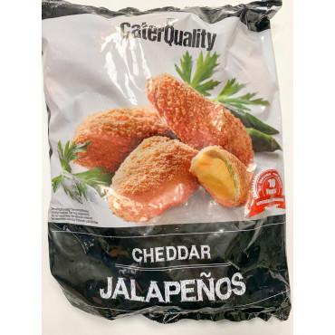 Cheddar juustuga jalapenod paneeritud külm. 1kg