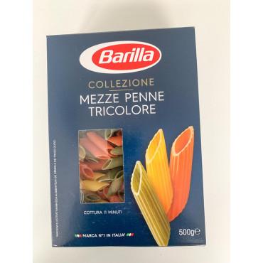 PASTA Penne Mezze tricolore 500g, BARILLA