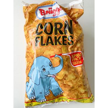 MAISIHELBED corn flakes jumbo pack 1000g, BRÜGGEN