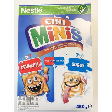 HOMMIKUSÖÖGIHELBED Nestle Cini Minis 450g