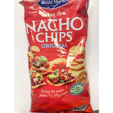 TORTILLA chips tex-mex nachos 475g, SANTA MARIA