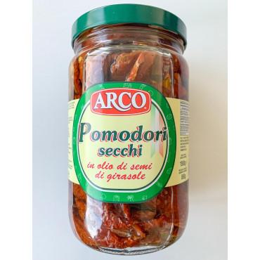 PÄIKESEKUIV. tomatid terved õlis 1550/850g ARCO/Green