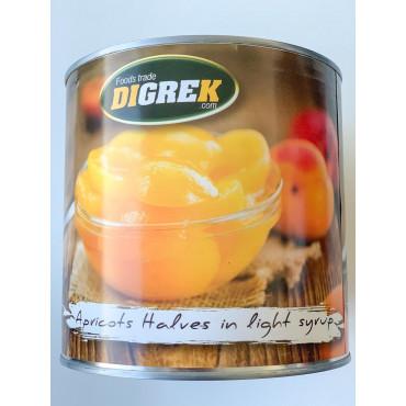 Aprikoosi pooled suhkruleemes 2,6kg/1,5kg Bakerys finest